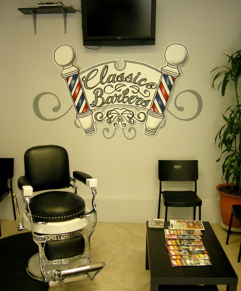 Barber Shop Irvine : Classic barbers1